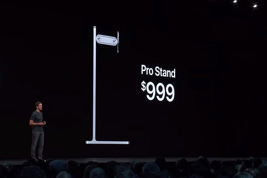 """एप्पलको नयाँ मोनिटर स्ट्याण्डको मूल्य एक हजार डलर """"मात्र"""""""