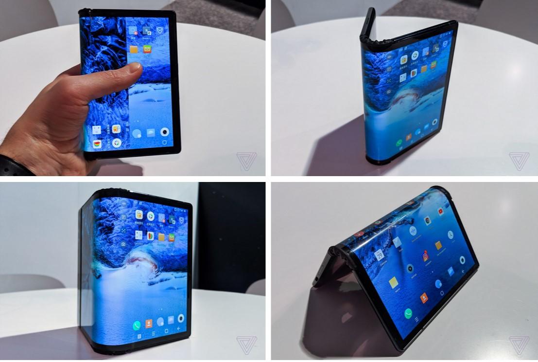 यो हो फोल्ड गर्न मिल्ने पहिलो स्मार्टफोन
