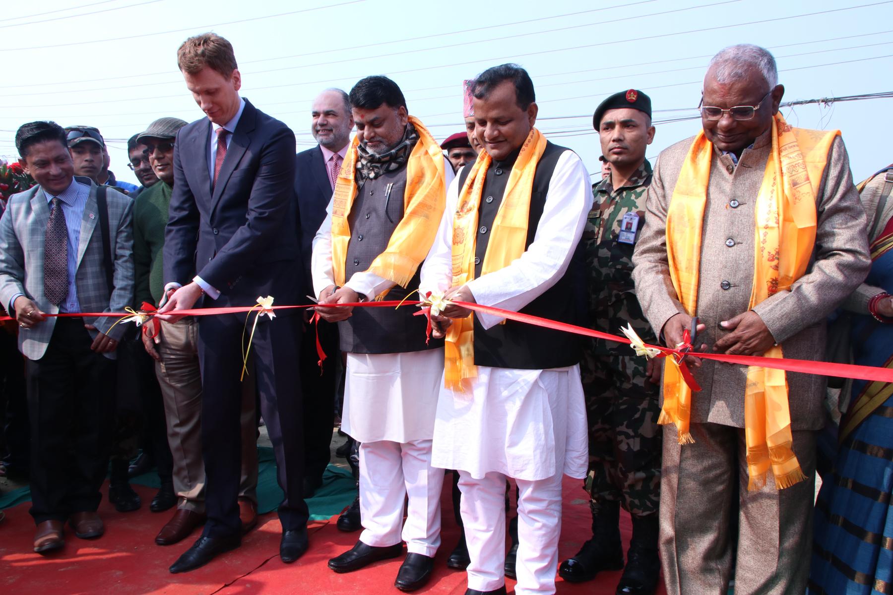 जनकपुरमा जेसीबी अपरेटर तालिम केन्द्र सुरु