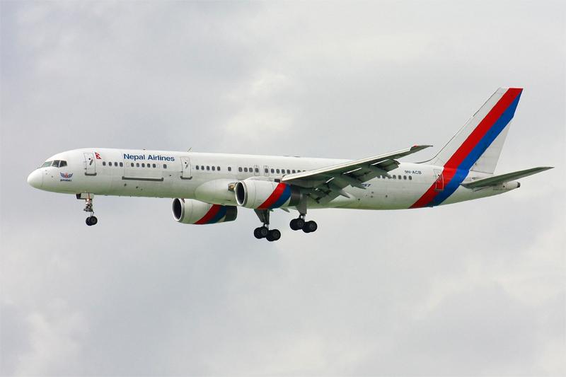 नेपाल एयरलाइन्स मार्चबाट नारिता र ग्वान्जाउ उड्ने