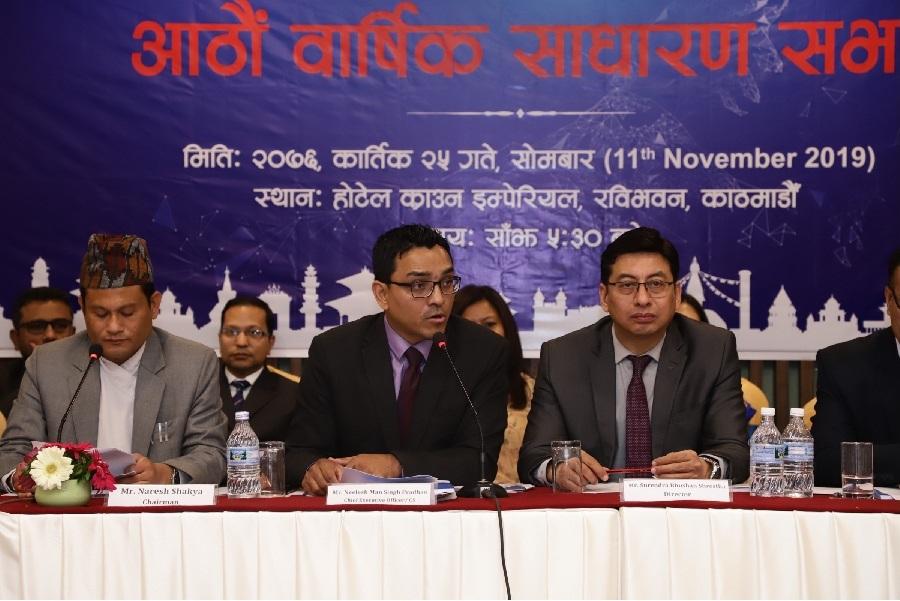 नेपाल क्लियरिङ्ग हाउसको साधारण सभा सम्पन्न