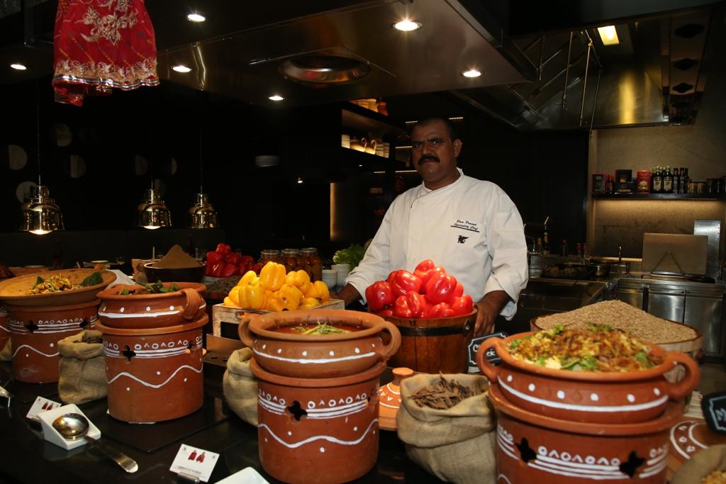 मेरिएट होटलद्वारा राजस्थानी फुड फेस्टिभल आयोजना