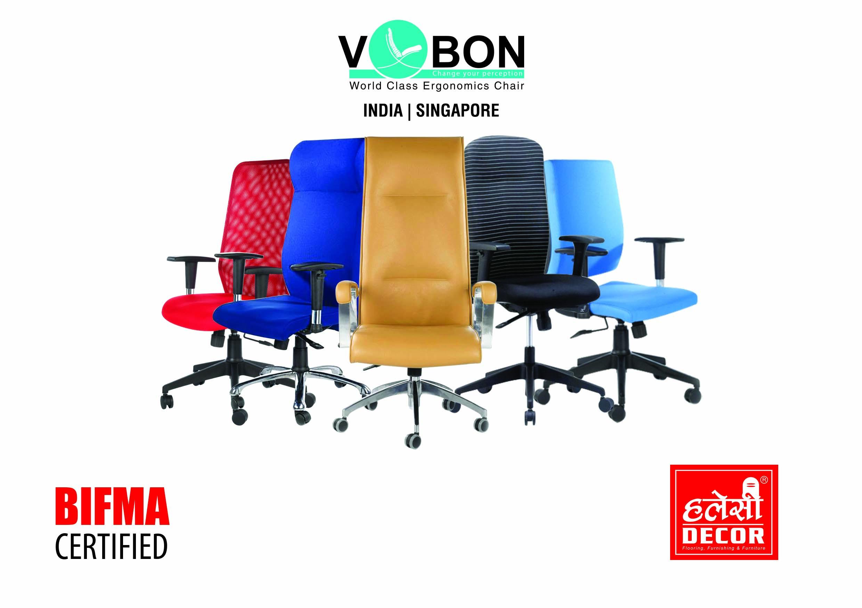 'भिबोन' ब्रान्डका कुर्सी नेपालमा